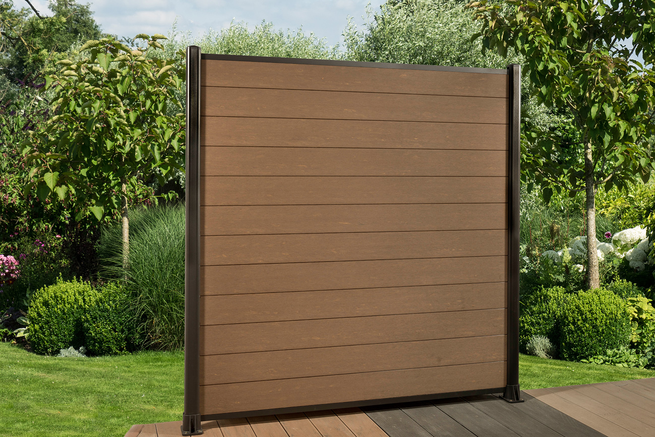 Muster Fur Wpc Zaun Sichtschutzzaun Gartenzaun Windschutzzaun